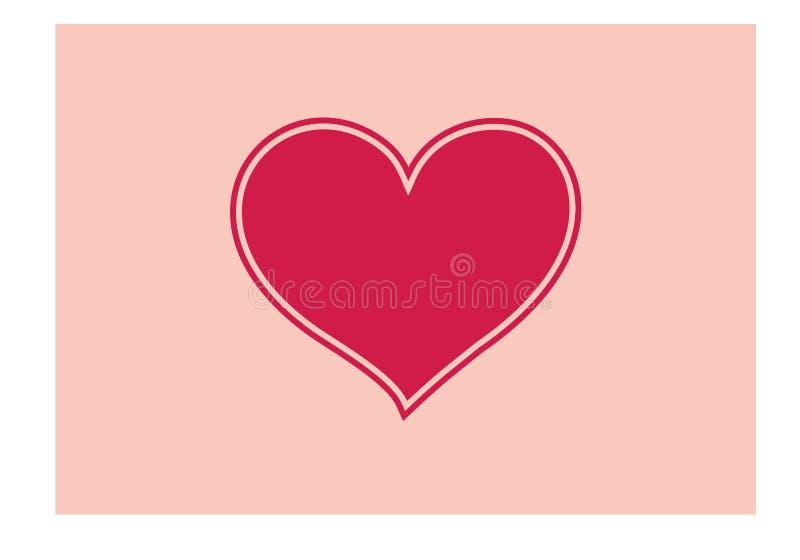 Влюбленность ` вы литерность и символ ` простые в векторе с декоративным сердцем doodle элемент бесплатная иллюстрация