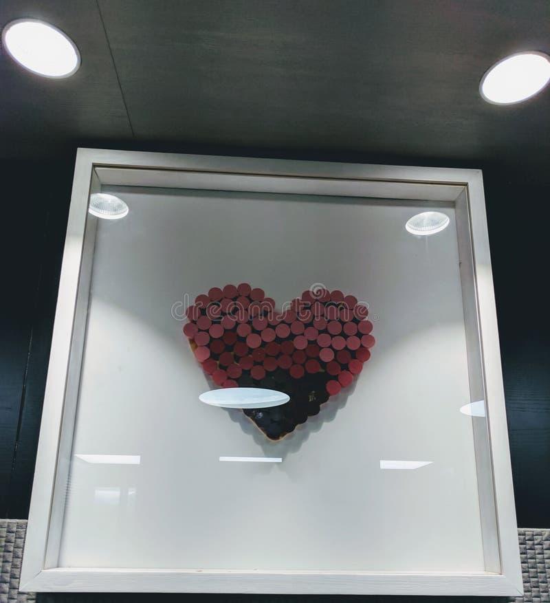 Влюбленность в коробке стоковое фото