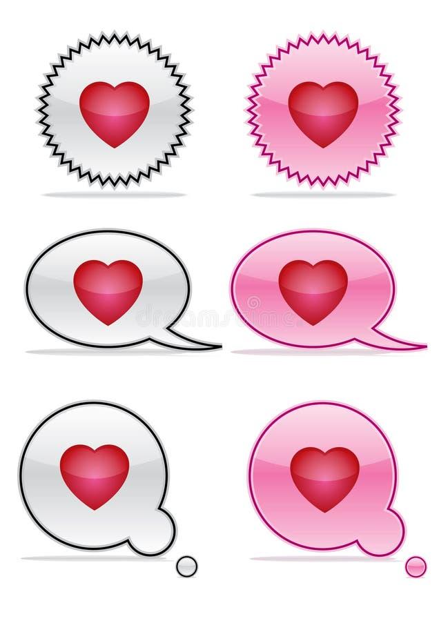 влюбленность икон стоковые изображения