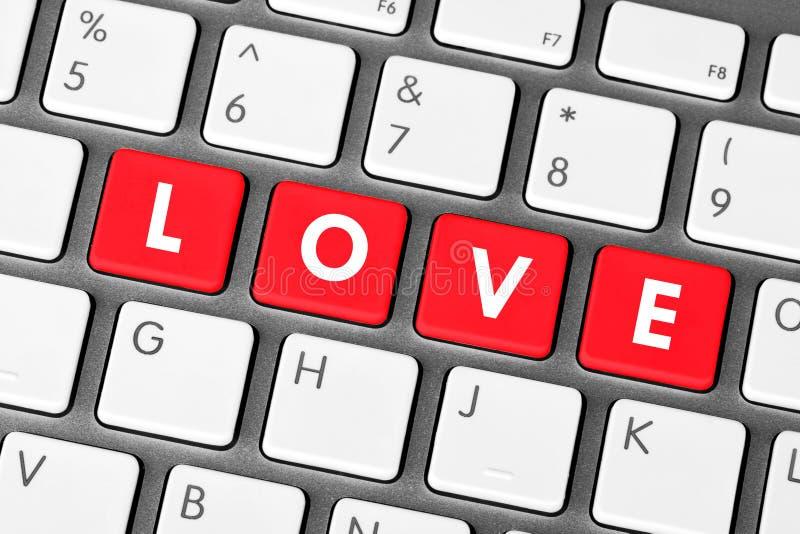 влюбленность ключей стоковые фото