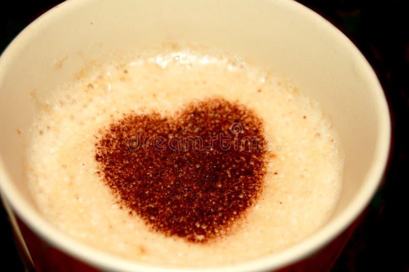 Влюбленность кофейной чашки стоковые изображения rf
