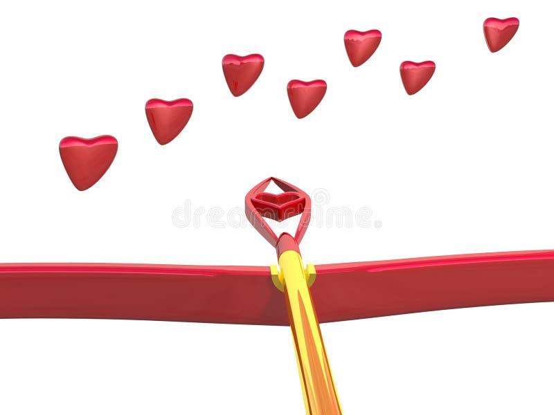 влюбленность одна секунда стоковое изображение rf