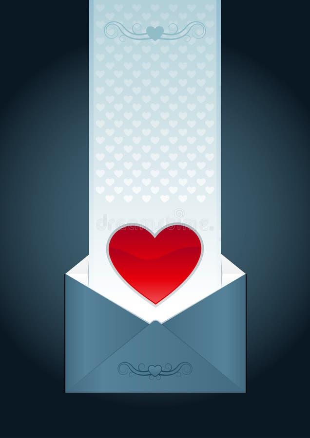 влюбленность письма бесплатная иллюстрация