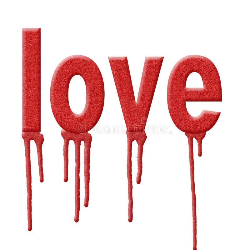 влюбленность предпосылки иллюстрация вектора
