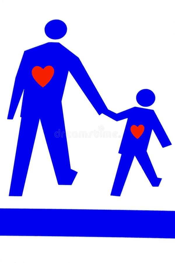 влюбленность родительская стоковое изображение