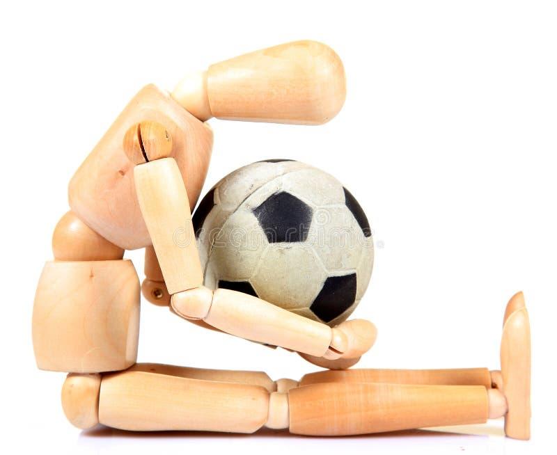 влюбленность футбола стоковое изображение rf
