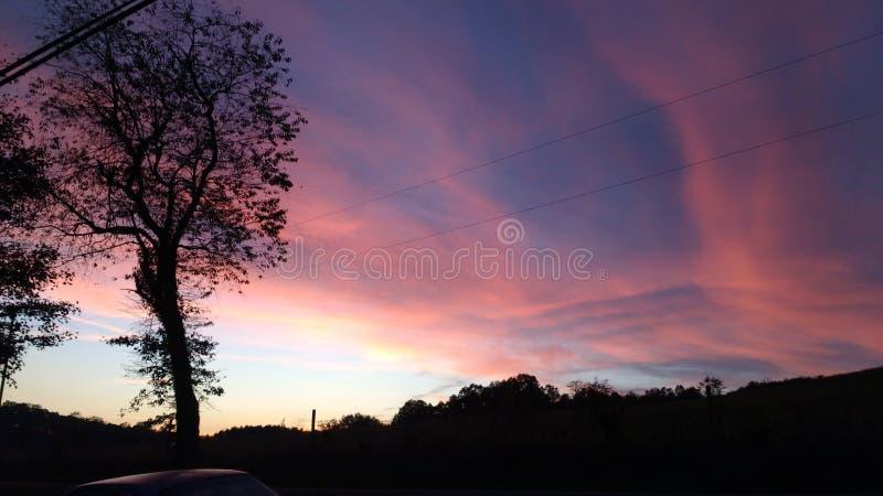 Влюбленность Im с этим красивым pic неба стоковые фото
