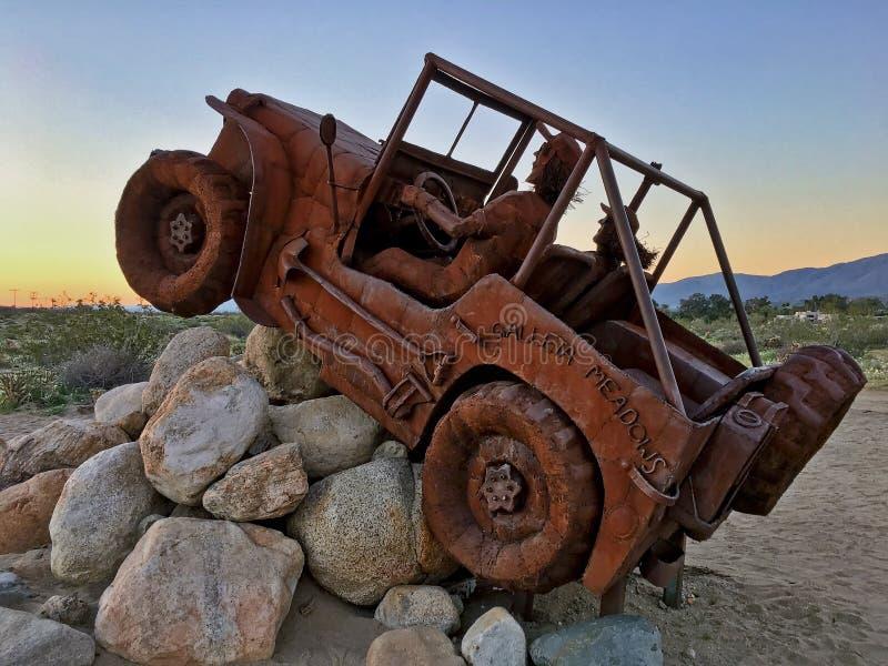 Внешнее художественное произведение публики пустыни стоковые фото