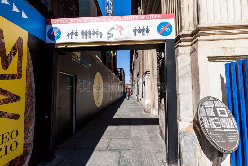 Внешние взгляды итальянского города Турина стоковые изображения