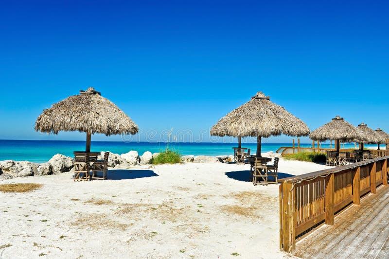 Внешний бар пляжа стоковое изображение rf