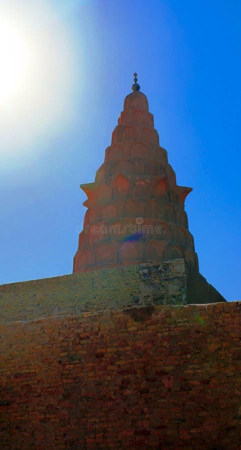 Внешний взгляд к усыпальнице Ezekiels пророка на Al Kifl, Ираке стоковые изображения rf