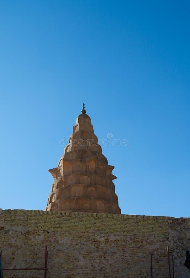 Внешний взгляд к усыпальнице Ezekiels пророка на Al Kifl, Ираке стоковая фотография rf