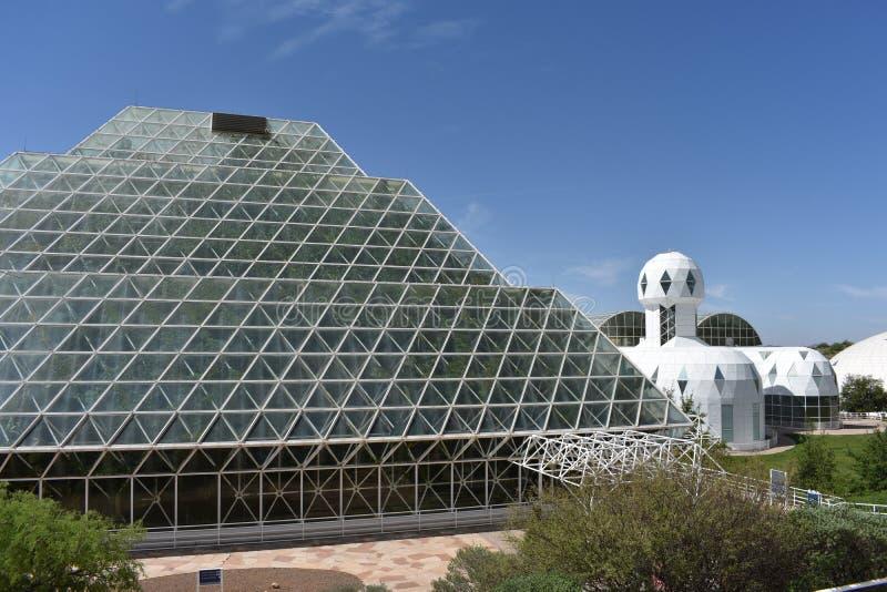 Внешний взгляд биосферы 2 стоковое фото