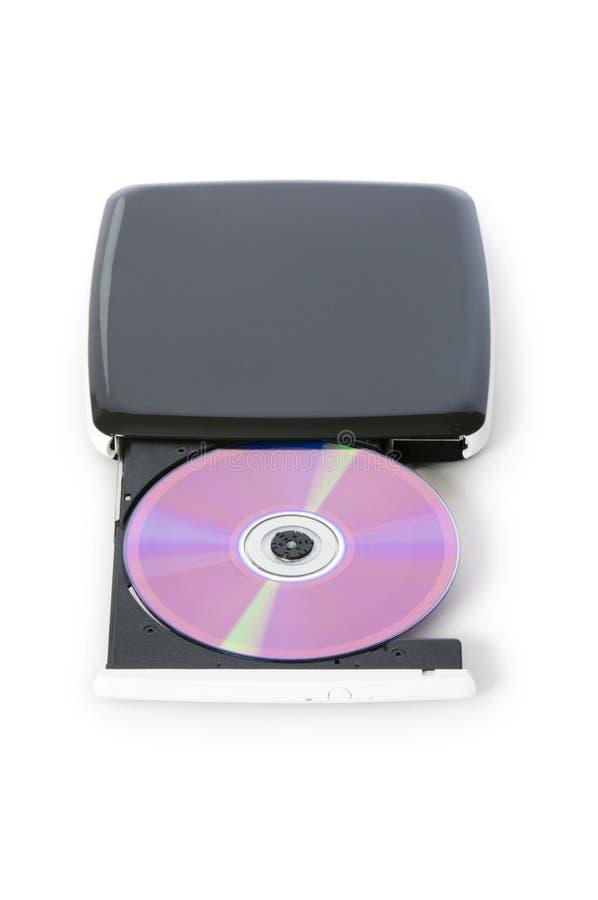 Внешний изолированный привод dvd стоковые фото