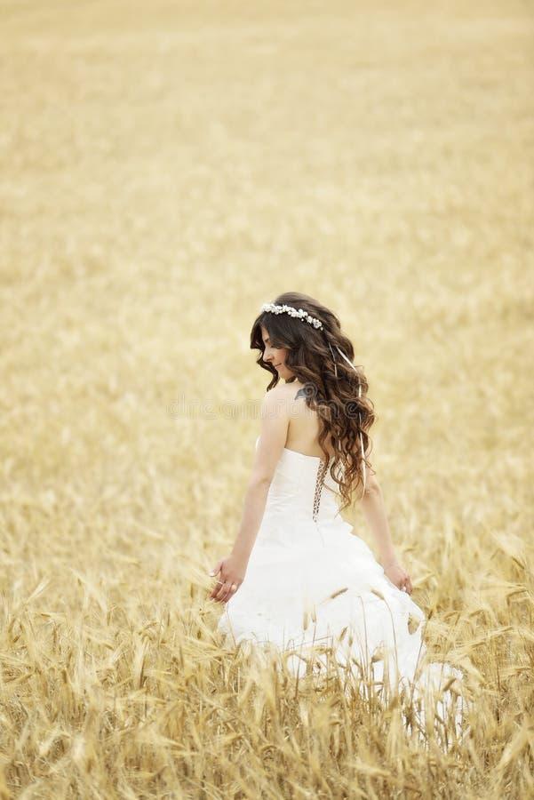 Download Внешний усмехаться невесты стоковое фото. изображение насчитывающей золотисто - 41659870