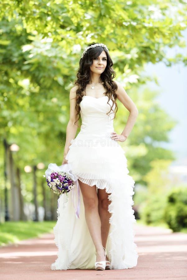 Download Внешний усмехаться невесты стоковое фото. изображение насчитывающей способ - 41660342