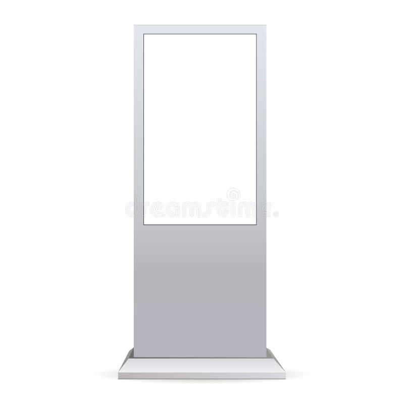 Внешний экран касания иллюстрация вектора