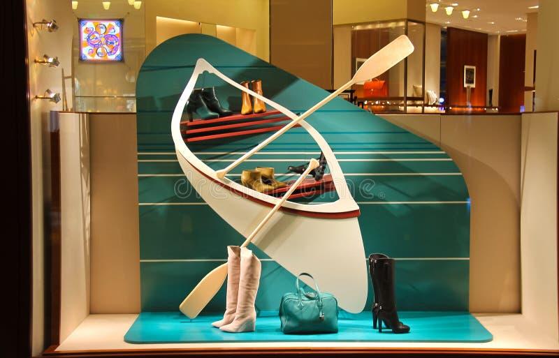 Внешняя витрина магазина в гостинице Bellagio в Лас-Вегас стоковое изображение