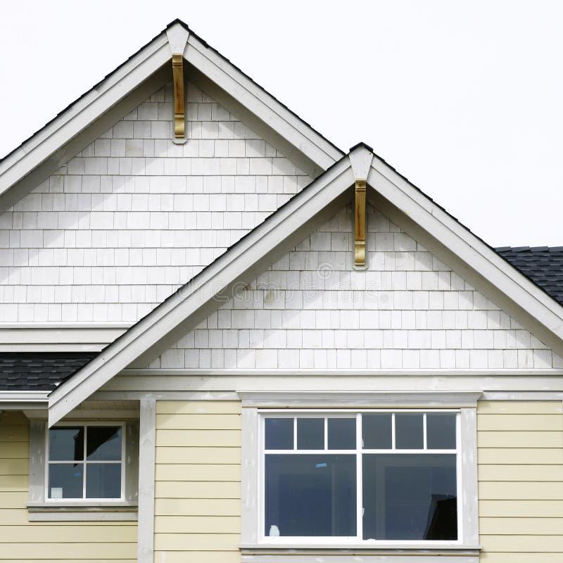 внешняя домашняя крыша дома стоковые изображения