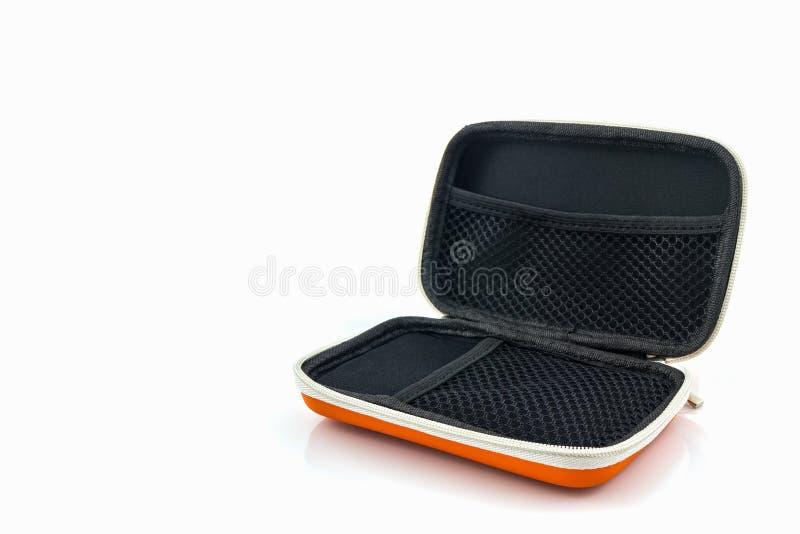 Внешняя переносная сумка жесткого диска Сумки для внешнего жесткого диска стоковое фото