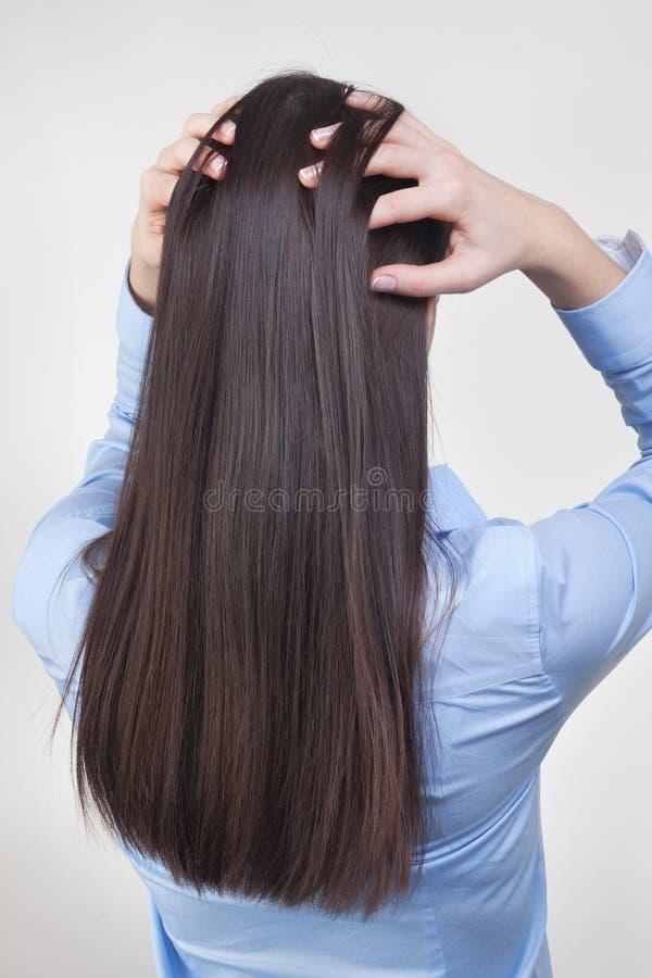 Внимательность волос стоковое изображение