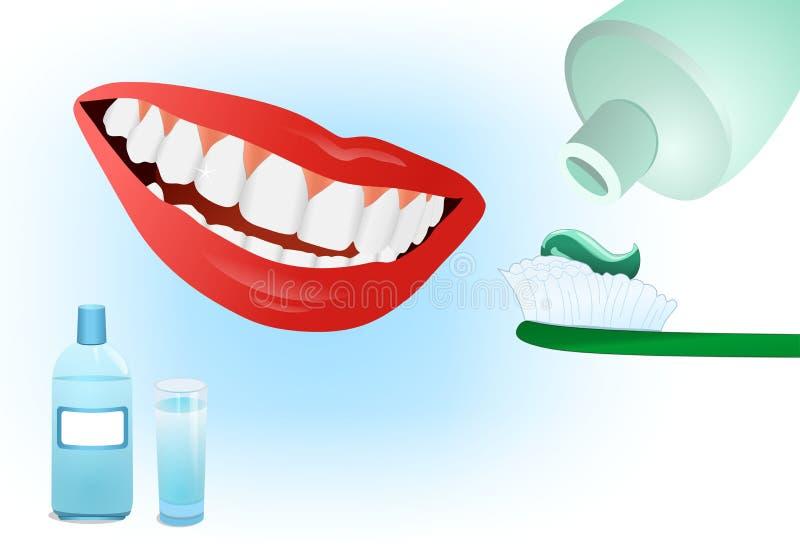 внимательность зубоврачебная бесплатная иллюстрация