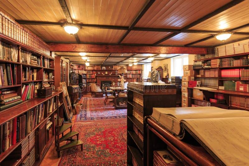 Внутренний взгляд известной музей Sherlock Holmes, Лондон, стоковое изображение