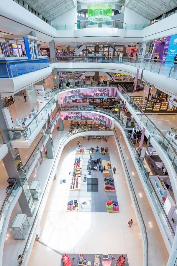 Внутренний взгляд центрального Pin Klao площади стоковые фотографии rf
