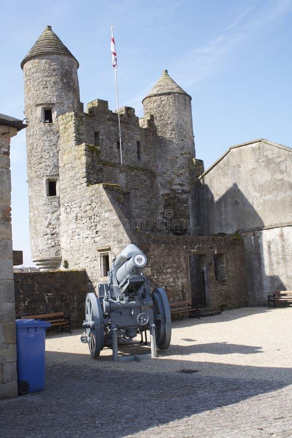 Внутренний замок Enniskillen стоковое изображение