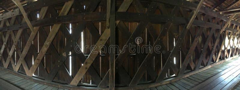 Внутренний мост мельницы Уотсона стоковые фотографии rf