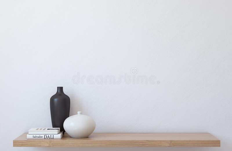 Внутренний модель-макет 3d представляют бесплатная иллюстрация