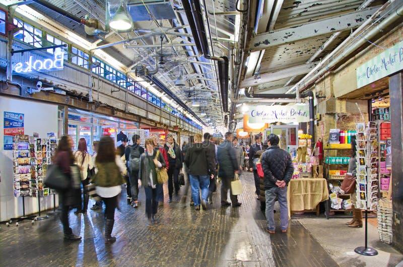Внутренний рынок Челси, Манхаттан, Нью-Йорк стоковое фото rf