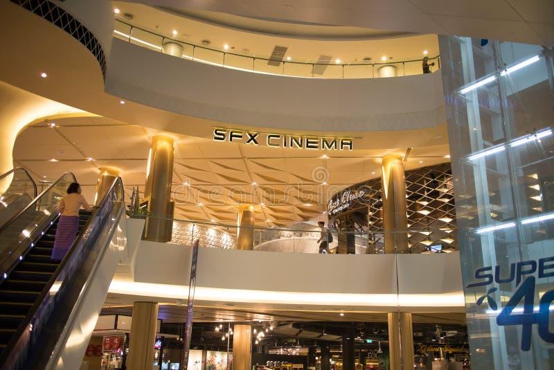 Внутренний торговый центр образа жизни Майя стоковые изображения rf