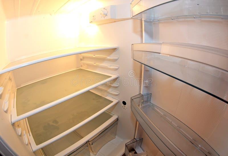 Внутренний холодильник стоковое изображение rf