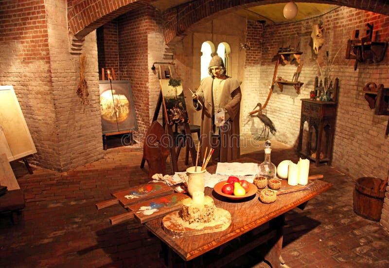 Внутренний центр искусства Bosch на 's-Hertogenbosch, Нидерландах стоковая фотография rf