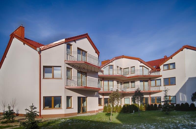 Новое жилое здание стоковая фотография rf