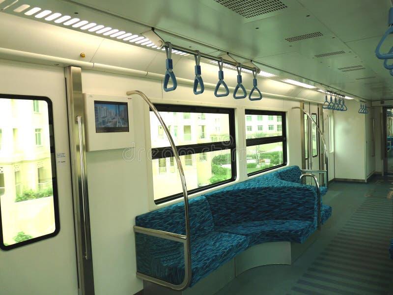 внутренний seating метро стоковое фото