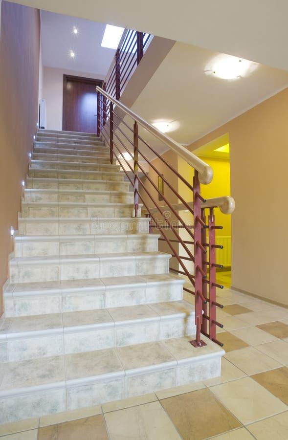 внутренний stairway стоковое изображение rf