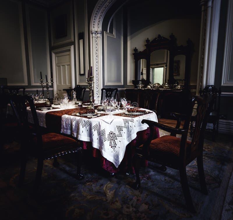 Внутренность аббатства Kylemore стоковое фото rf