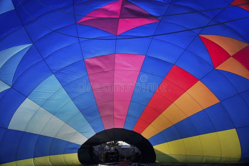 внутренность воздушного шара горячевоздушная стоковые фото
