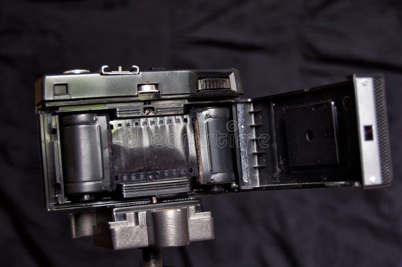 Внутренность старой камеры фильма, сделанная в СССР стоковое фото rf