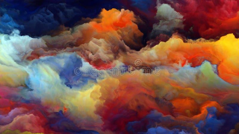 Download Внутренняя жизнь атмосферы чужеземца Иллюстрация штока - иллюстрации насчитывающей цветасто, backhoe: 81803613