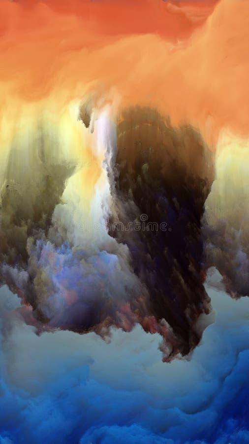 Download Внутренняя жизнь атмосферы чужеземца Иллюстрация штока - иллюстрации насчитывающей идея, фракталь: 81803771