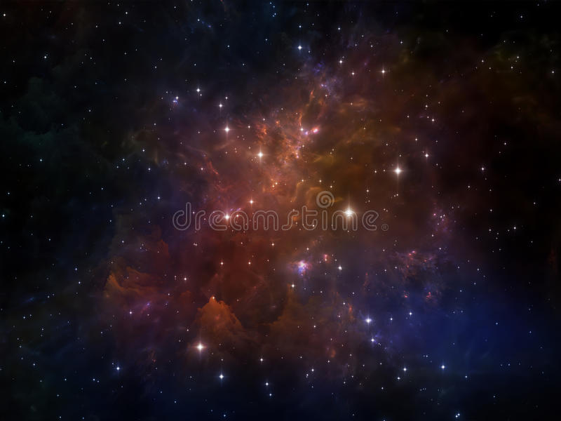 Download Внутренняя жизнь космоса иллюстрация штока. иллюстрации насчитывающей фантазия - 40589351
