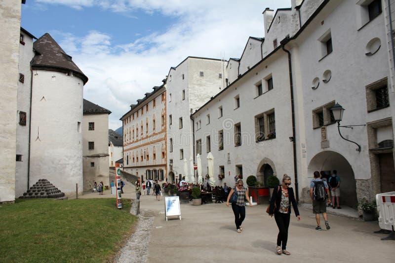 Внутренняя крепость Зальцбурга стоковое изображение rf