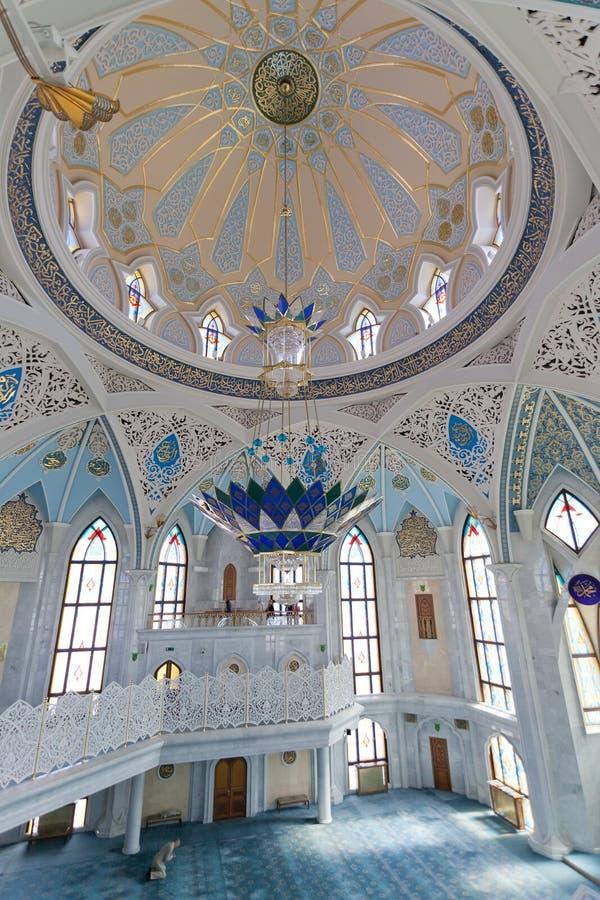 Внутренняя мечеть Qol Sharif стоковые изображения rf