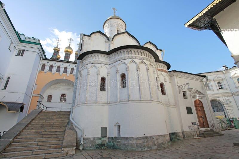 Внутренняя Москва Кремль, Россия стоковое изображение