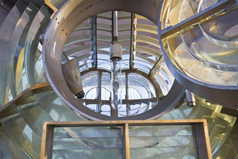 внутренняя структура маяка стоковая фотография rf