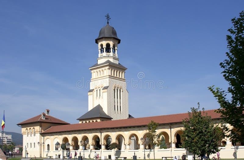 Внутренняя Alba крепость Iulia стоковые фотографии rf