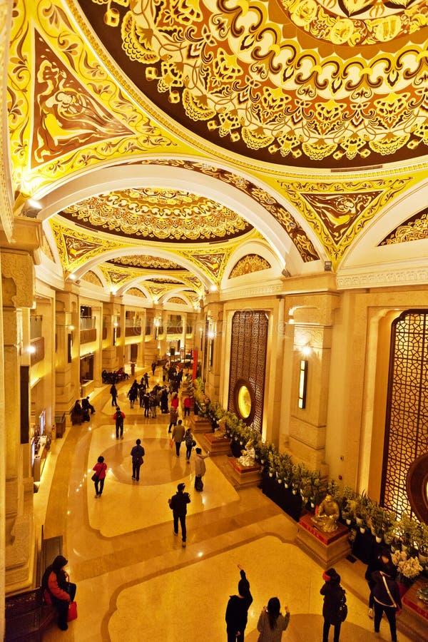Внутри здания - коридора стоковые изображения
